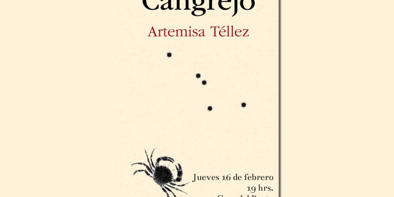Poemario Cangrejo - Artemisa Téllez